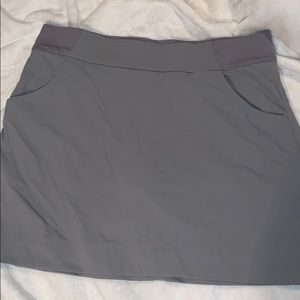 Columbia gray skort XL Omni Shield
